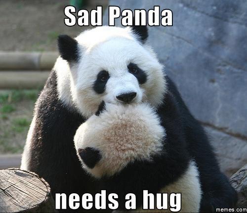 Sad Panda - BabyCenter