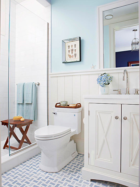 French Country Decor Blue And Yellow