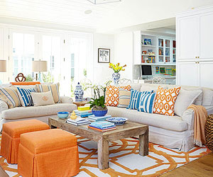 Using Color Living Room Color Schemes