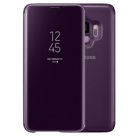 Official Samsung Galaxy S9 Clear View Stand Cover Case ...