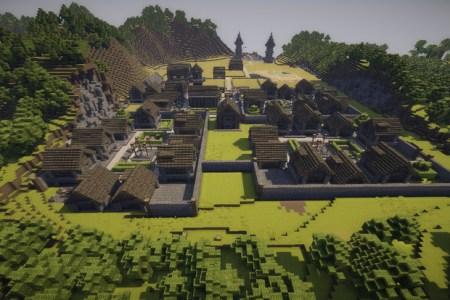 Minecraft Mittelalter Map Path Decorations Pictures Full Path - Minecraft mittelalter haus map