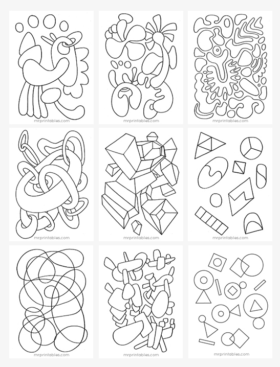 coloring pages printable free # 19