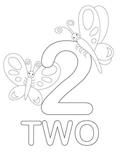 number 3 coloring page # 30