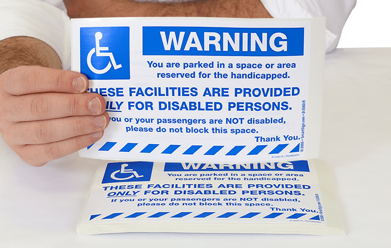Handicap Parking Permit Application