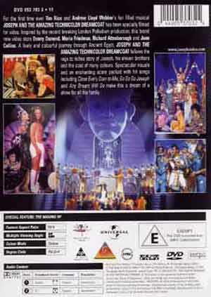 Myreviewer Com Jpeg Back Cover Of Joseph And The
