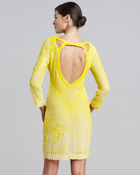 Roberto Cavalli Allover Beaded Dress Allover Beaded Dress