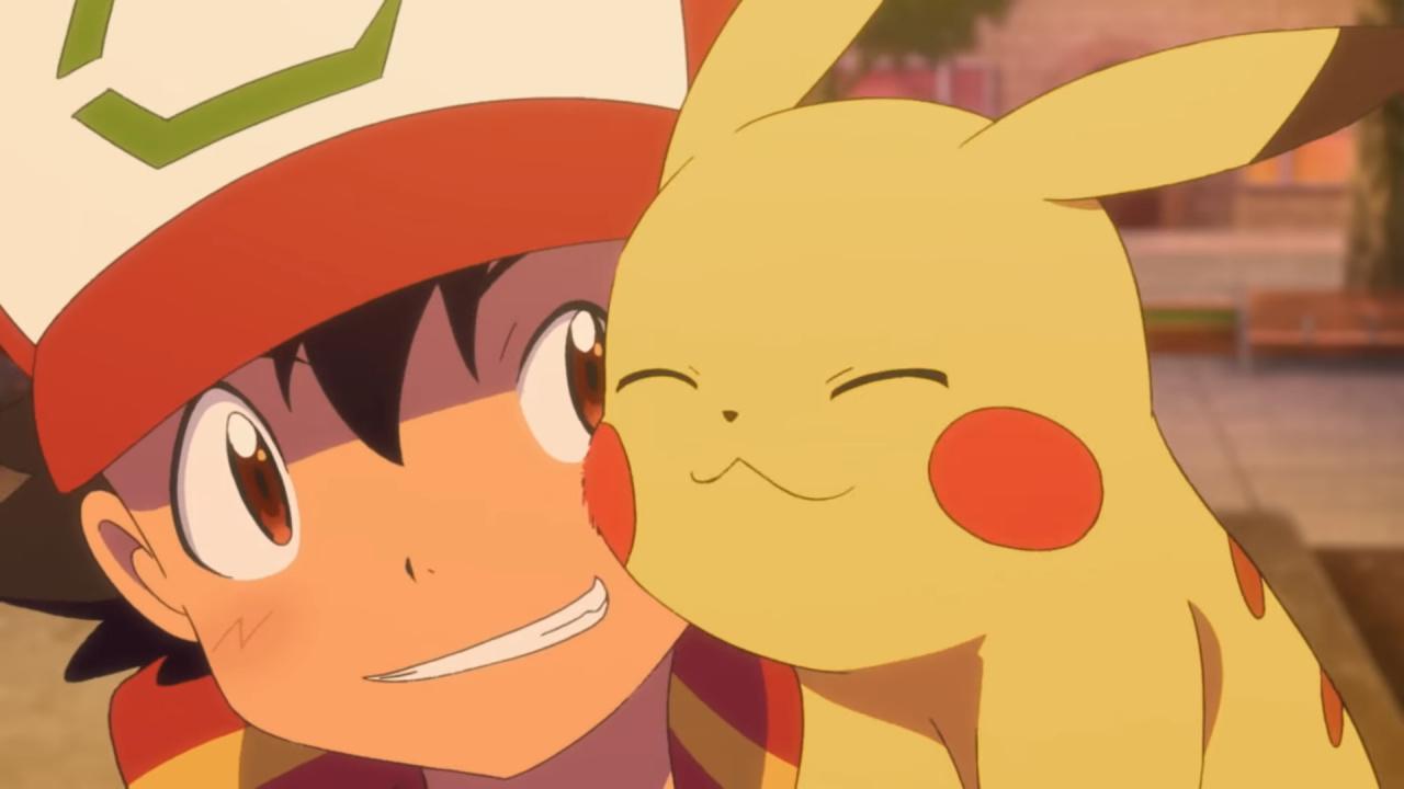 Pikachu Reboot Pokemon Ash And