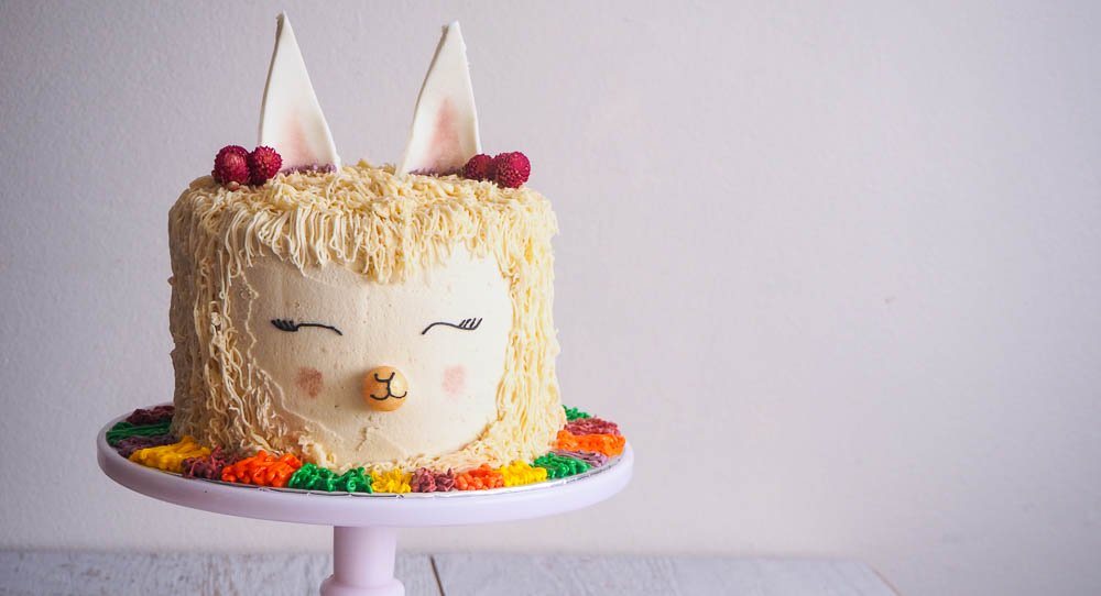 Alpaca Llama Cake Recipe Not Quite Nigella