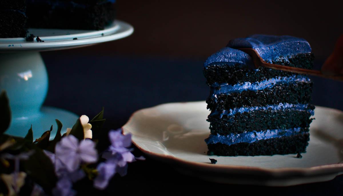 Blue Velvet Cake Not Quite Nigella