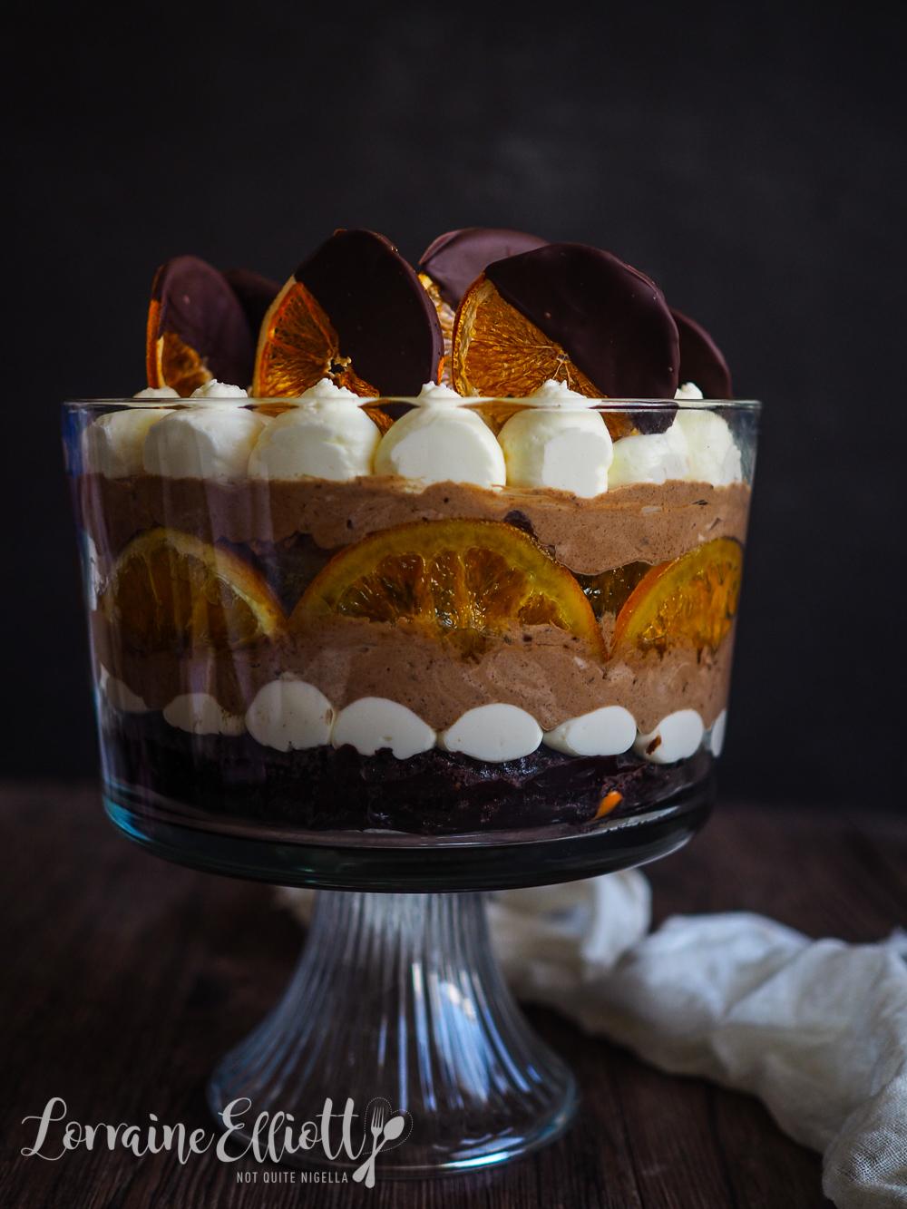 Woolworths Chocolate Orange Mud Cake Hack Trifle Not