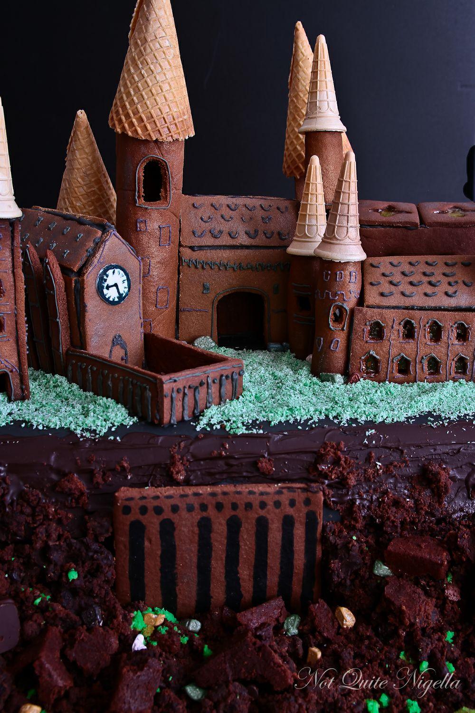Hogwarts Gingerbread House Not Quite Nigella