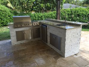New and Used Kitchen islands for Sale in Pompano Beach  FL   OfferUp Outdoor kitchen Bbq for Sale in North Miami  FL