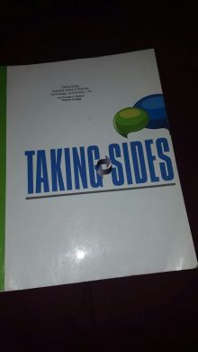 Taking Sides  Clashing Views in Science  Technology  and Society 11e     Taking Sides  Clashing Views in Science  Technology  and Society 11e  ISBN  9781308008790 for Sale in Tolleson  AZ   OfferUp