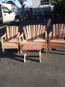 New and Used Patio furniture for Sale in Lake Elsinore  CA   OfferUp Handmade Wooden patio furniture always new always available delivery  available for Sale in Perris  CA