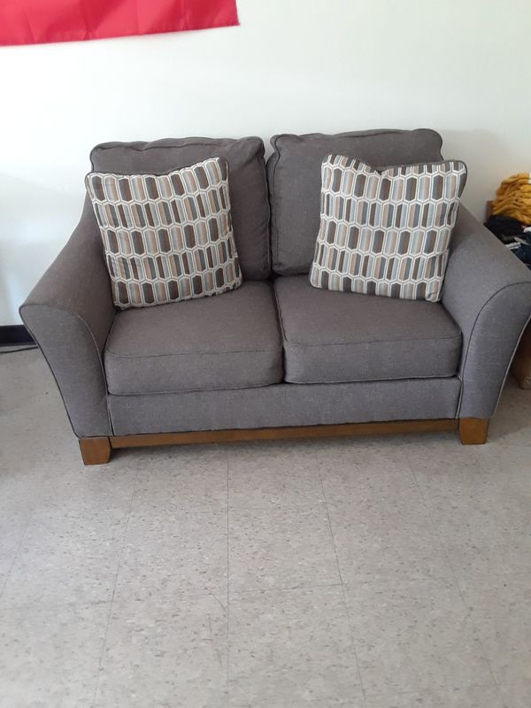 2pc Alara Slate Loveseat Sofa Set for Sale in New Bedford  MA   OfferUp
