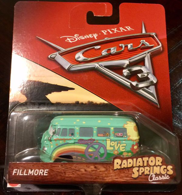 VW VOLKSWAGEN BUS   Fillmore Disney Pixar Cars Radiator Springs     VW VOLKSWAGEN BUS   Fillmore Disney Pixar Cars Radiator Springs Classic for  Sale in San Jose  CA   OfferUp