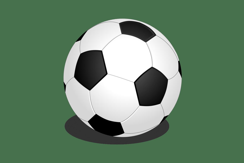 OnlineLabels Clip Art - Football (Soccer Ball)