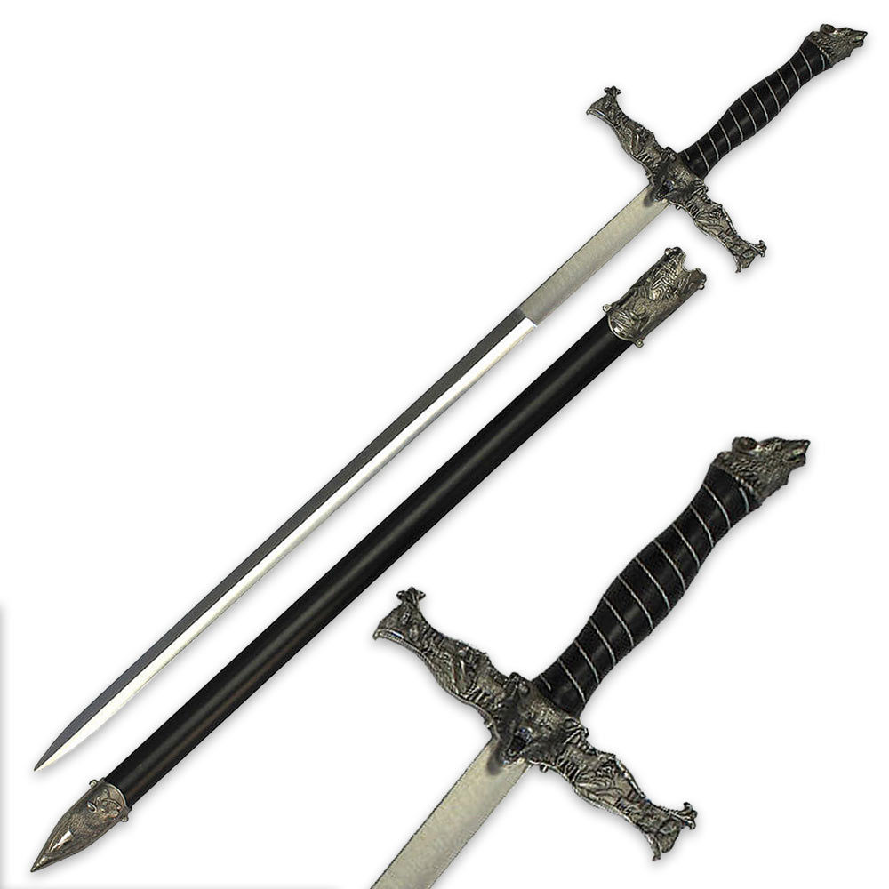 Black And White Wolf Weapons
