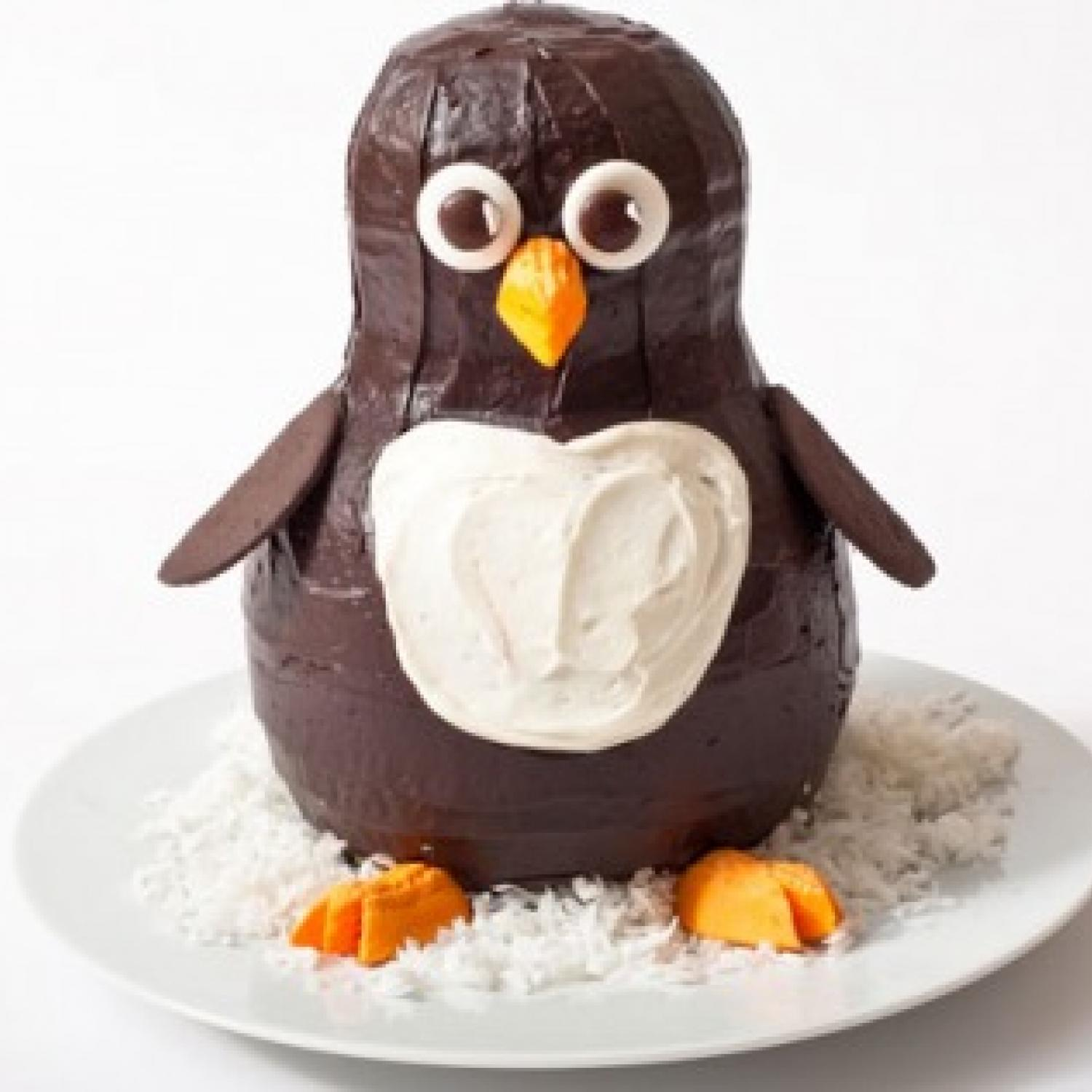 Penguin Birthday Cake Design Parenting
