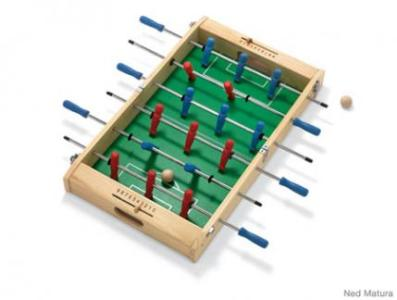 5 Active Indoor Games   Parenting Space is tight  This mini Foosball Table easily fits on a coffee table and  folds in half for trouble free transport to Grandma s or a buddy s