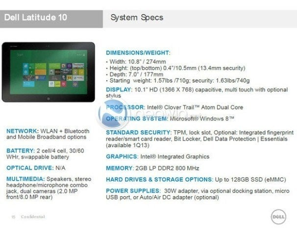Hp Windows 8 Tablet Leak