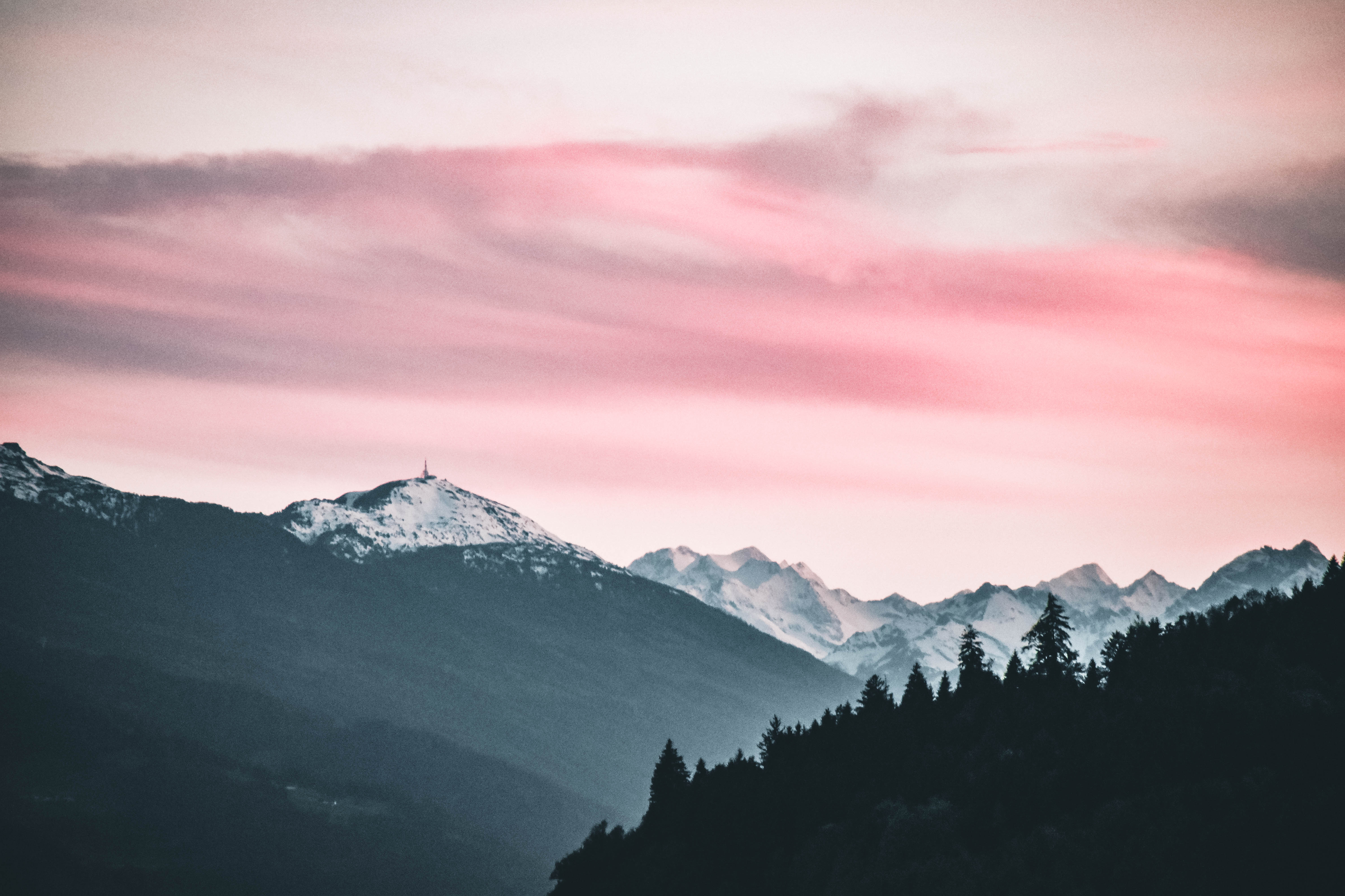 Desktop Wallpaper      Pexels      Free Stock Photos Snow Capped Mountains Under the Cloudy Skies