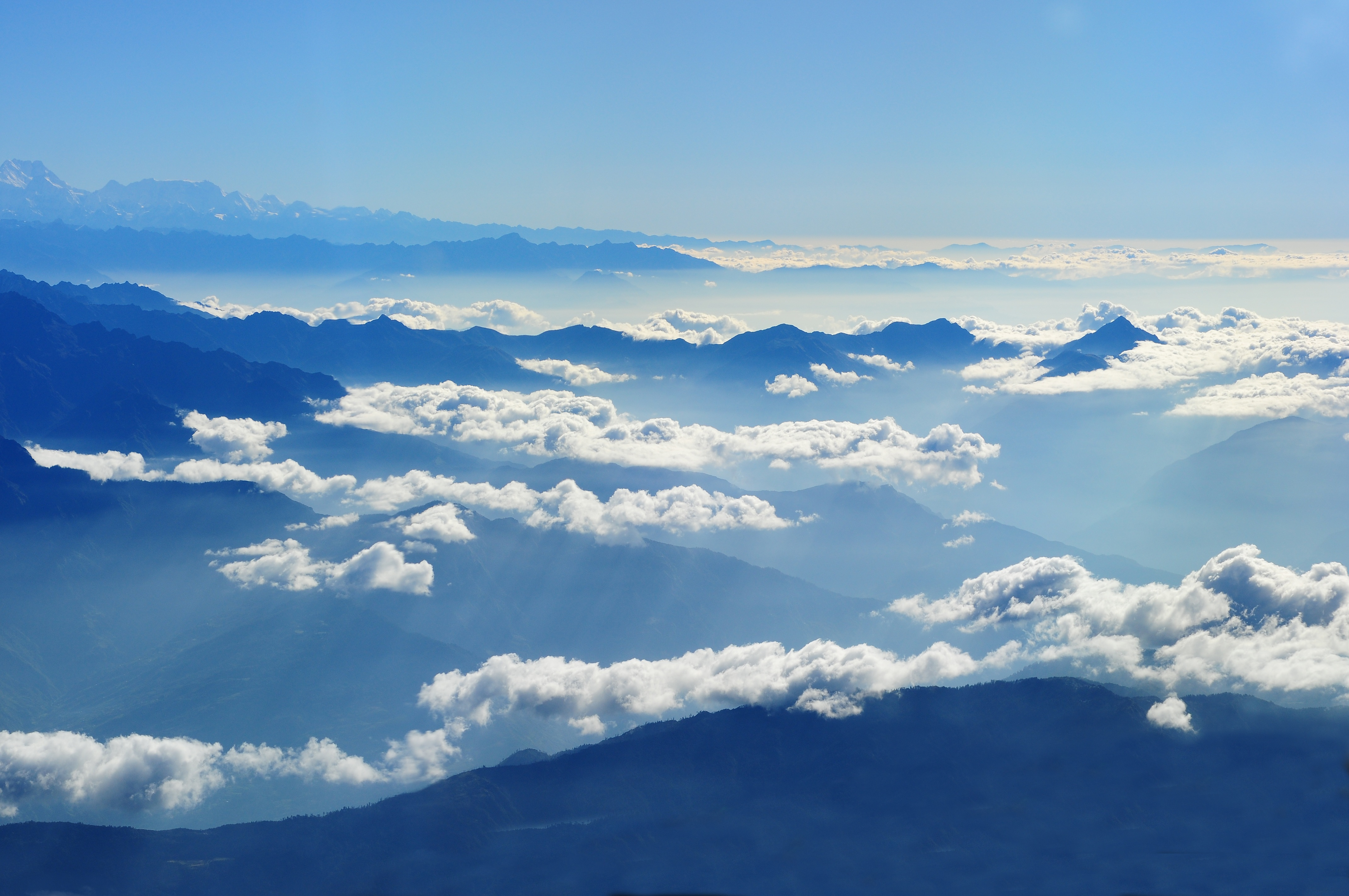 Aerial View Of Cloudscape 183 Free Stock Photo