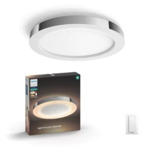 Hue White ambiance Adore Bathroom ceiling light 3435011P7   Philips Light for your moments