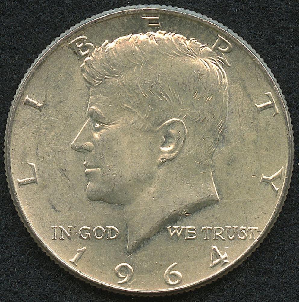 1964 Kennedy Memorial Half Dollar