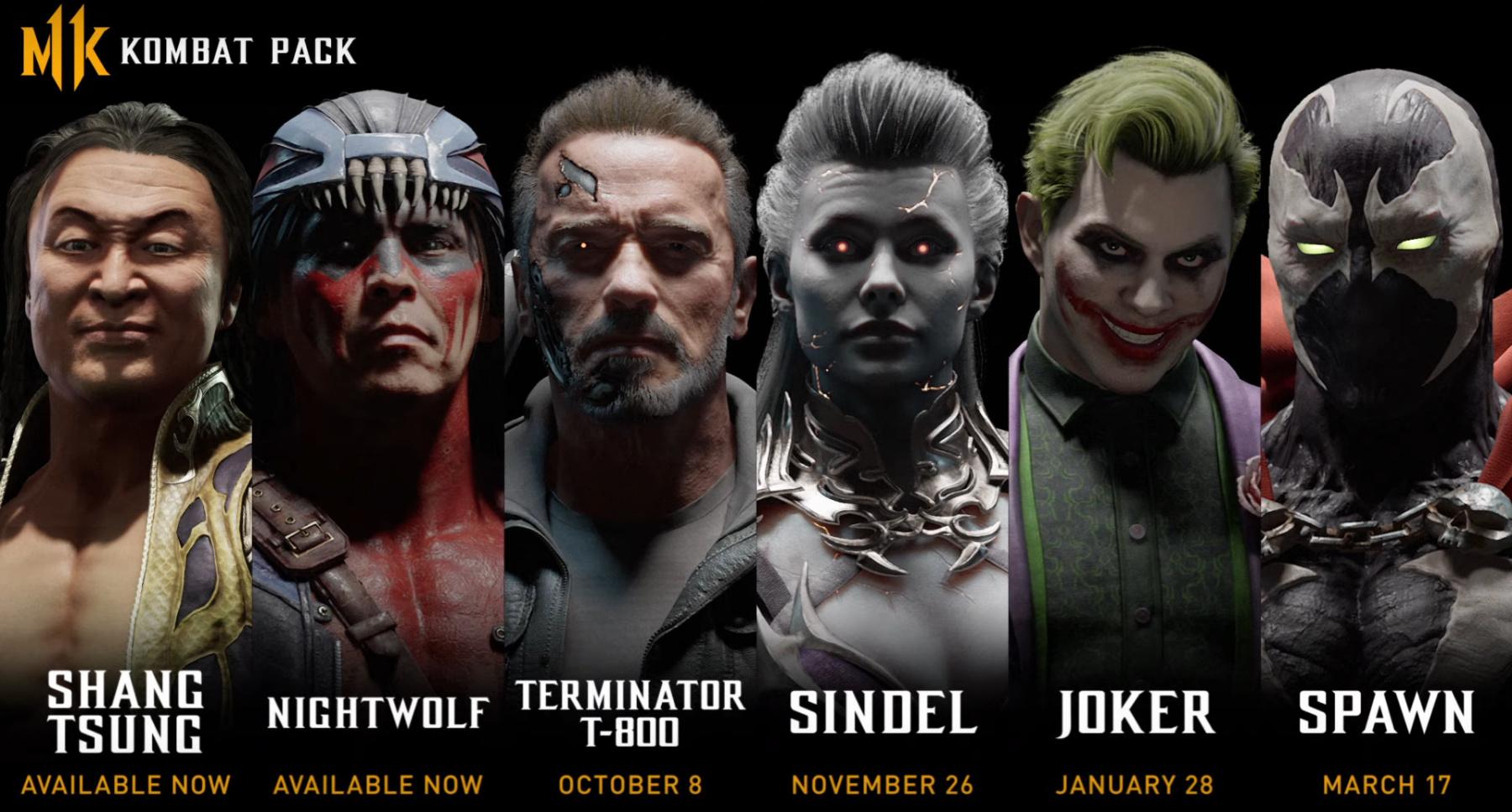 Mortal Kombat 11 DLC Characters Confirmed, Pack Includes ...