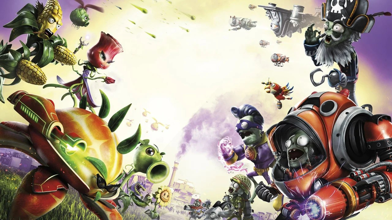 Zombies Vs Garden Warfare Plants Hero 2 Super