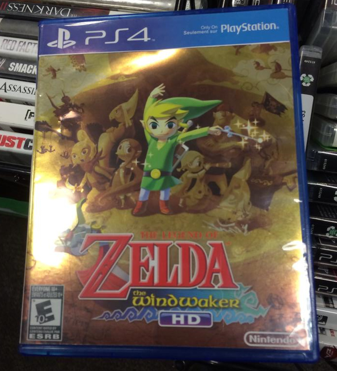 Weirdness  This Is What The Legend of Zelda Would Look Like on PS4     Wishful thinking