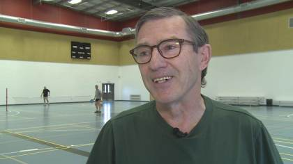 Pickleball; an more and more fashionable sport in Canada