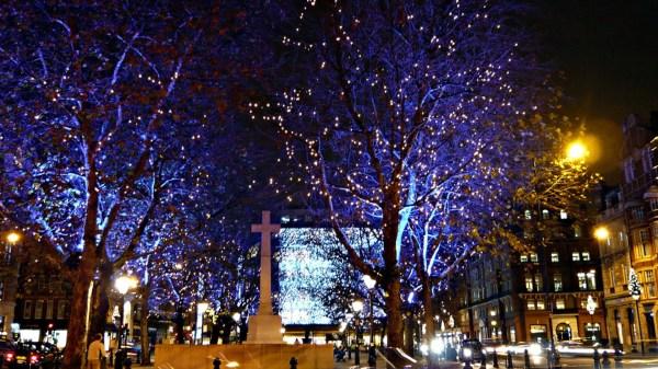christmas lights london 2019 # 42