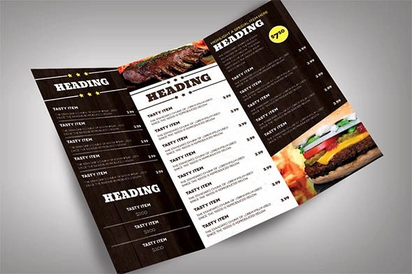 Restaurant Catering Menu Ideas