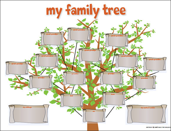 FREE 56+ Family Tree Templates in Word Apple | Pages ...