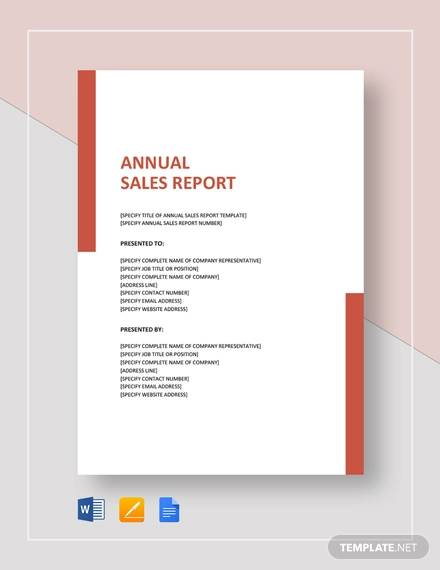 16+ Sample Sales Reports - Free Sample, Example, Format ...