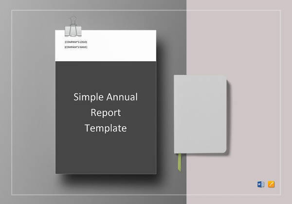 FREE 24+ Annual Report Templates in Word | PDF | Apple Pages