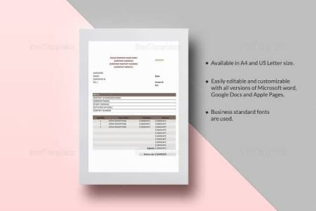 15 Sample Medical Invoice Templates to Download   Sample Templates Sales Invoice Template