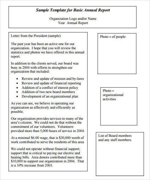 29+ Sample Reports - PDF, Word, Apple Pages