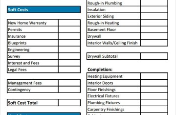 New Home Plumbing Worksheet | Licensed HVAC and Plumbing