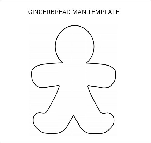 FREE 8+ Gingerbread Man Samples in PDF   PSD   Vector