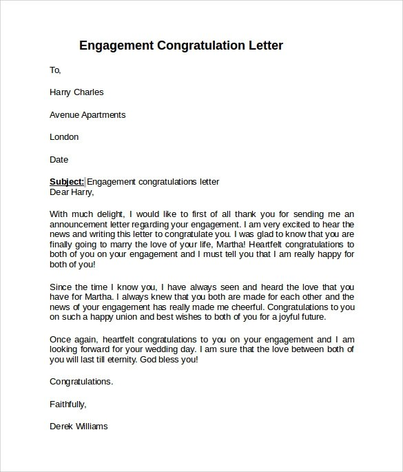 Congratulations Your Scholarship Letter
