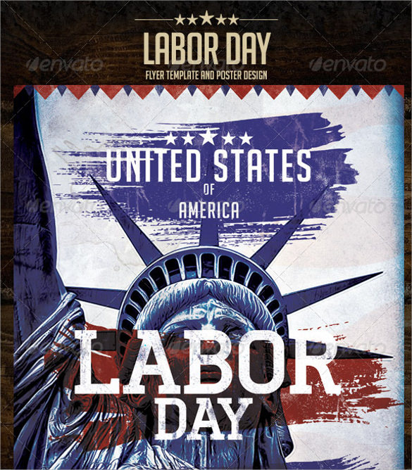 Free 12 Labour Day Flyer Templates Eps Psd