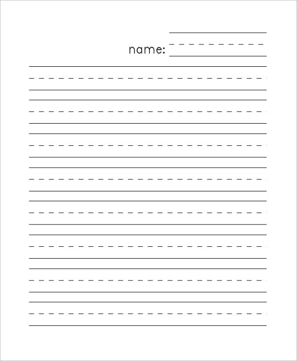 1st Grade Letter Writing Paper