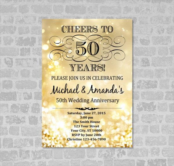 Sample Wedding Invitation Layout