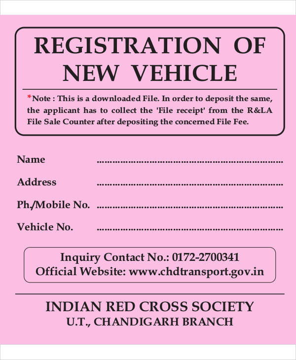 How Register New Car