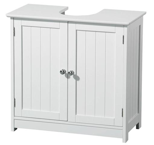 Pedestal Sink Bathroom Storage