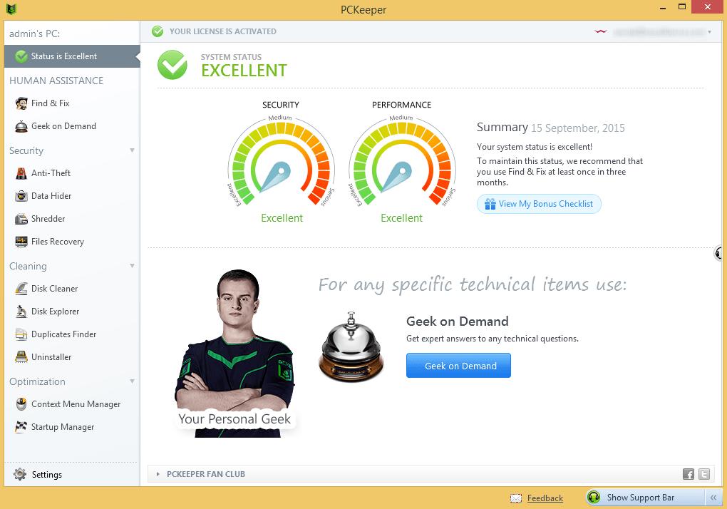 Optimization Security Keeper Web