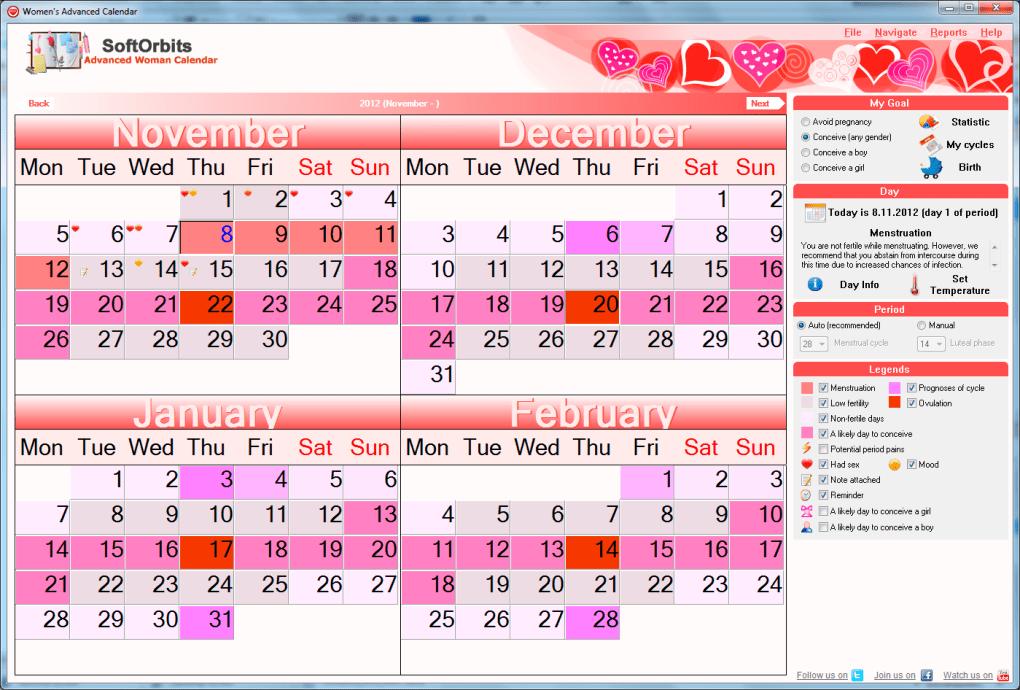 counting menstrual cycle calendar - 1020×690